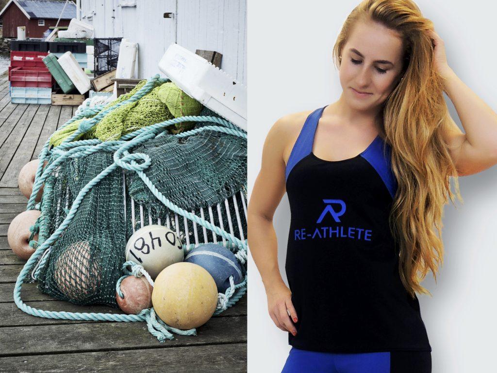 Nachhaltige Sportbekleidung aus recycelten Fischernetzen und weiteren Plastikkomponenten nachhaltiger sport