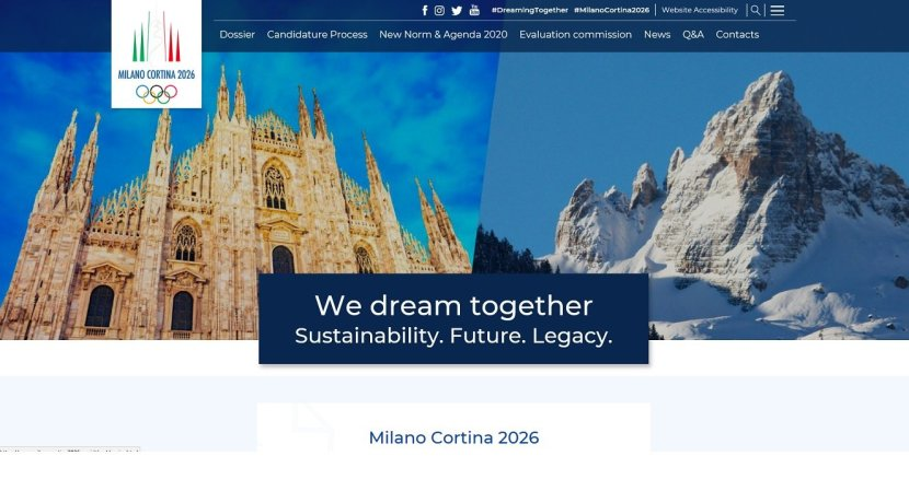 Nachhaltigkeit bei den Olympischen Winterspielen in Milano Cortina 2026