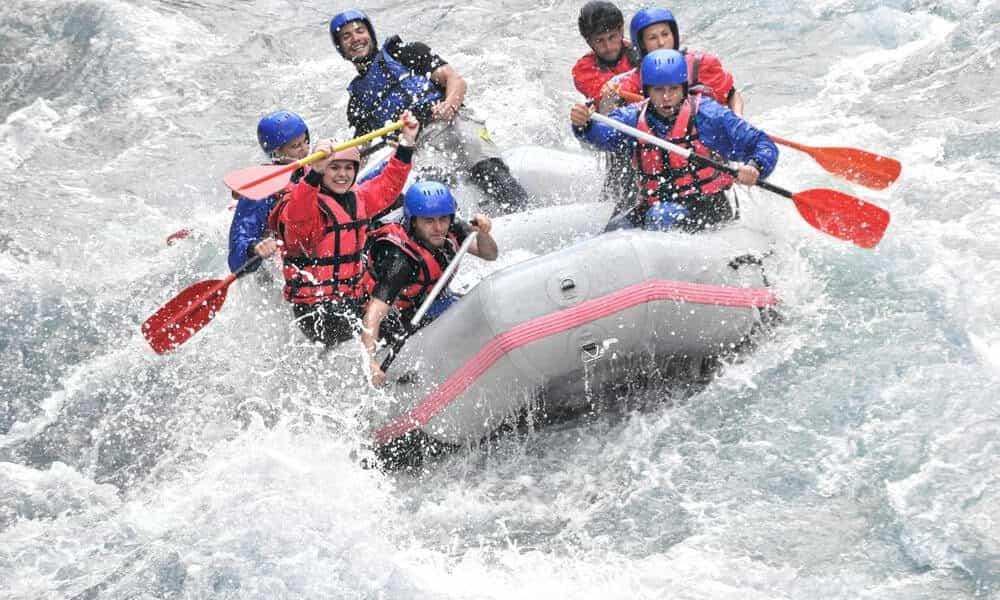 Extrem und Fun-Sport Rafting