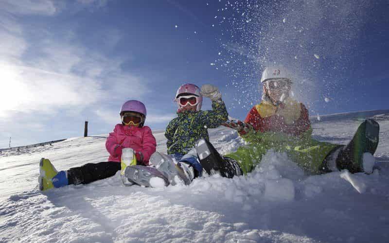 Marika, angelina, Laura. Skigebiet niedere andelsbuch