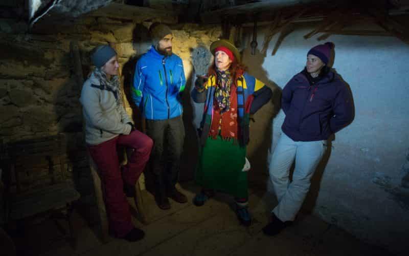 Sagenwanderung am Kristberg mit Herta Glück