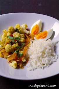 Blumenkohlcurry