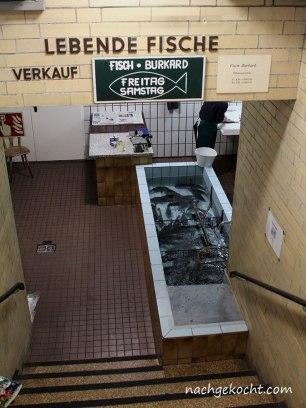 Kleinmarkt Halle Fischverkauf
