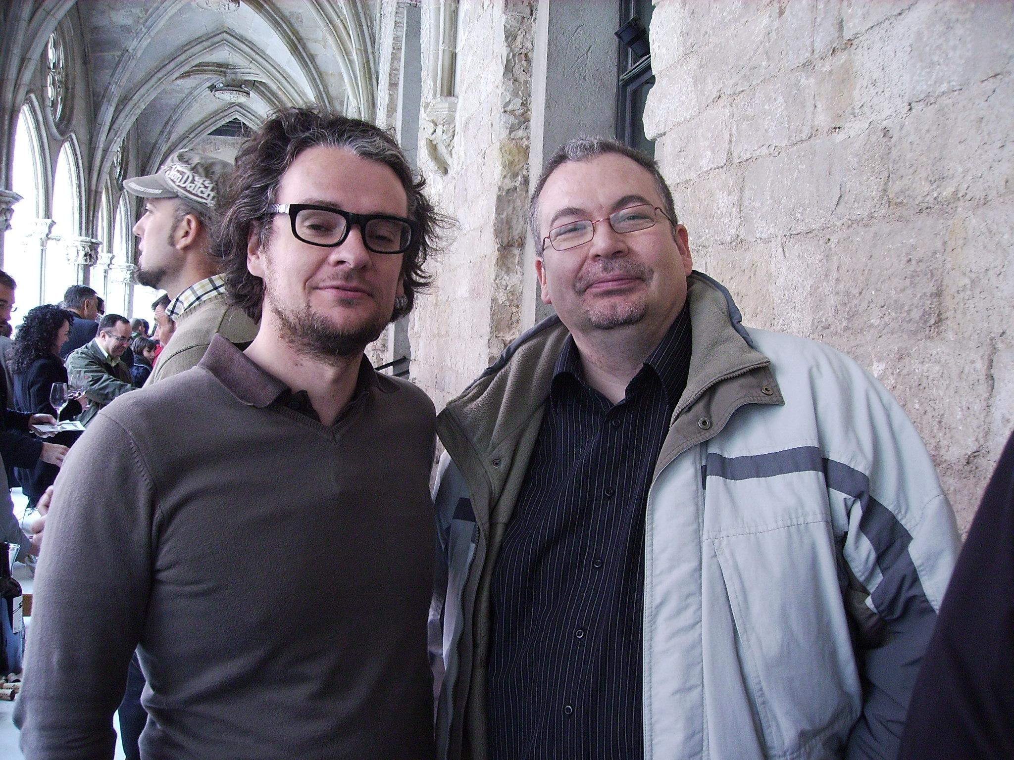Con Benoit, de L´anima del Vi
