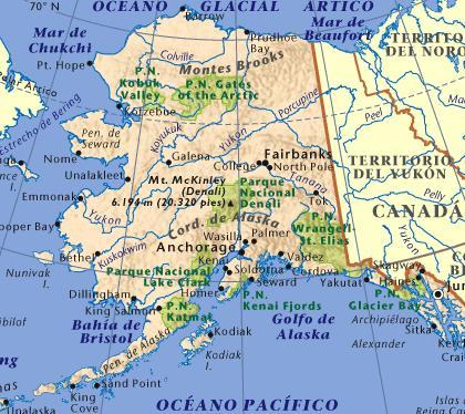 Alaska: con bodegas, pero sin viñedos (1/3)