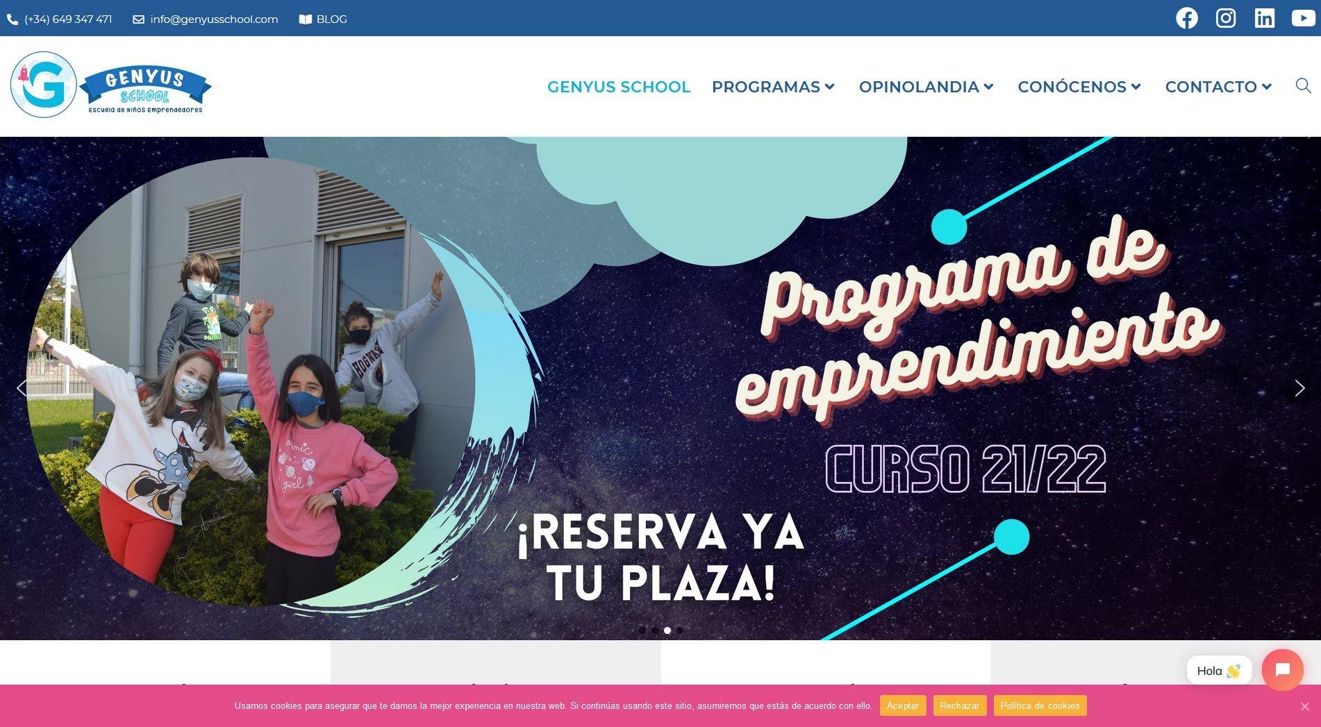 Web Genyus School
