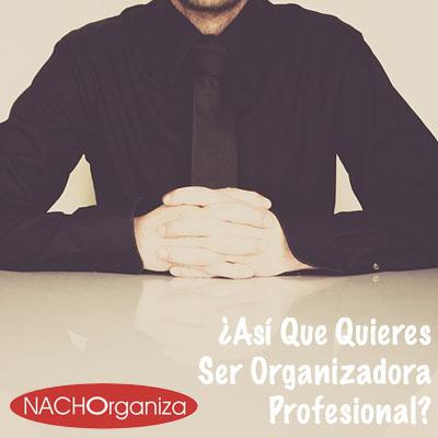 ¿Así Que Quieres Ser Organizadora Profesional?