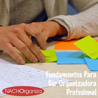 Fundamentos Para Ser Organizadora Profesional