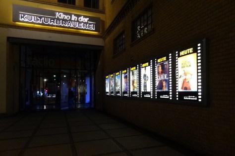 Kino in der Kulturbrauerei. Foto: Ulrich Horb
