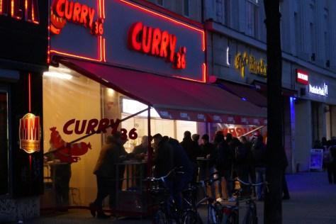 """Curry 36"" am Mehringdamm. Foto: Ulrich Horb"