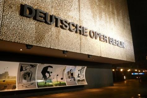 Deutsche Oper in Charlottenburg. Foto: Ulrich Horb