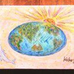 宇宙 地球 イルカ 新しい世界 スピリチュアル 太陽