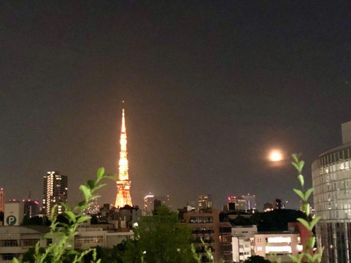 東京タワー 六本木 月 宇宙船 UFO