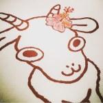 花やぎ 石垣島 なちゅらる宇宙人 手描き