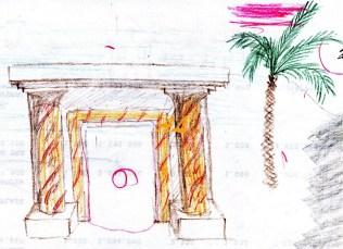 Fachada exterior para templo 2