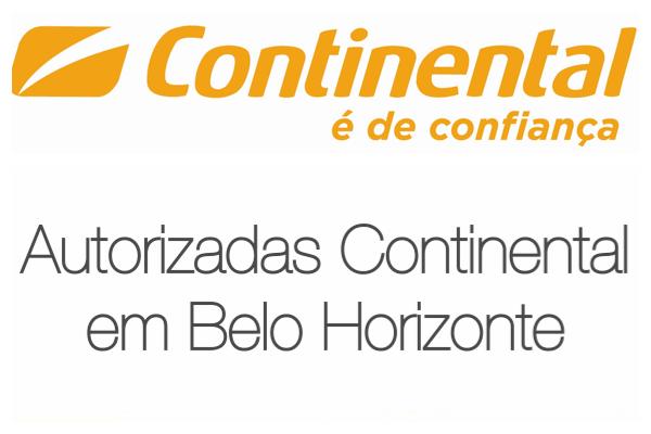 Autorizadas Continental em Belo Horizonte