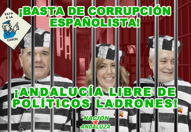 Nación Andaluza ante la acusación de 2 ex-presidentes y 20 altos cargos de la Junta en el caso EREs