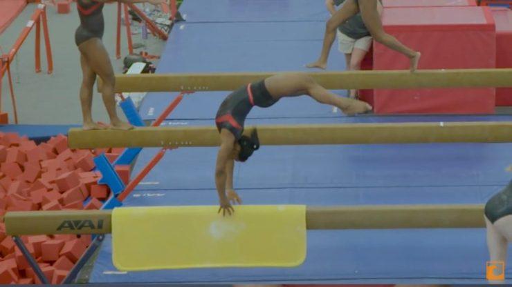 Simone Biles gimnasta olímpica