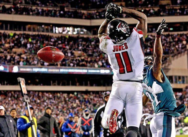Atlanta Falcons inició con ventaja
