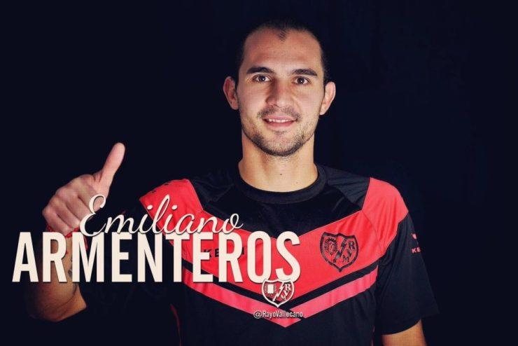 Emiliano Armenteros al Rayo Vallecano, Clausura 2018, Liga española,