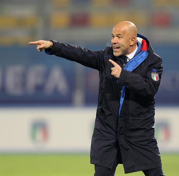 Luigi Di Biagio, nuevo entrenador provisional de Italia, nuevo entrenador de Italia, entrenador de Italia