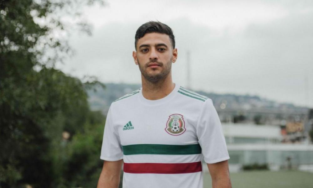 fb280ad380f20 México presentó su nueva playera de visitante para el Mundial de Rusia 2018