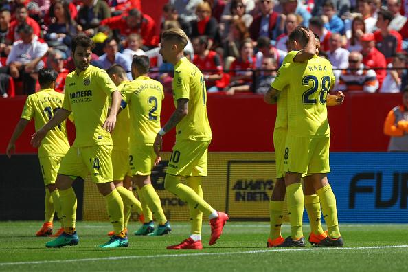 Villarreal tuvo la ventaja en el primer tiempo  Fuente Getty