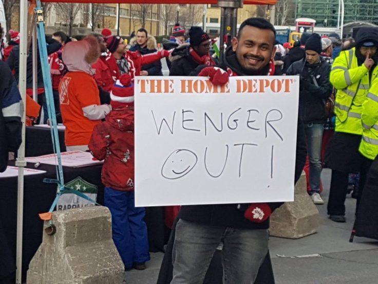 Las apariciones de Wenger Out