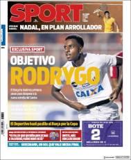 Diarios deportivos del 27 de abril de 2018