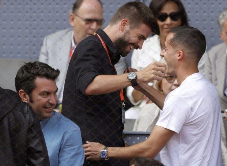 Risas en el Mutua Madrid