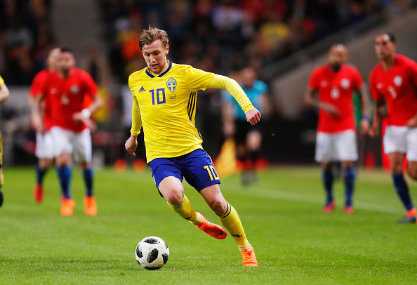 Plantel de jugadores de la Selección de Suecia en Rusia 2018