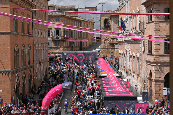 Mañana continuará la décima tercera jornada del Giro de Italia  Fuente Getty