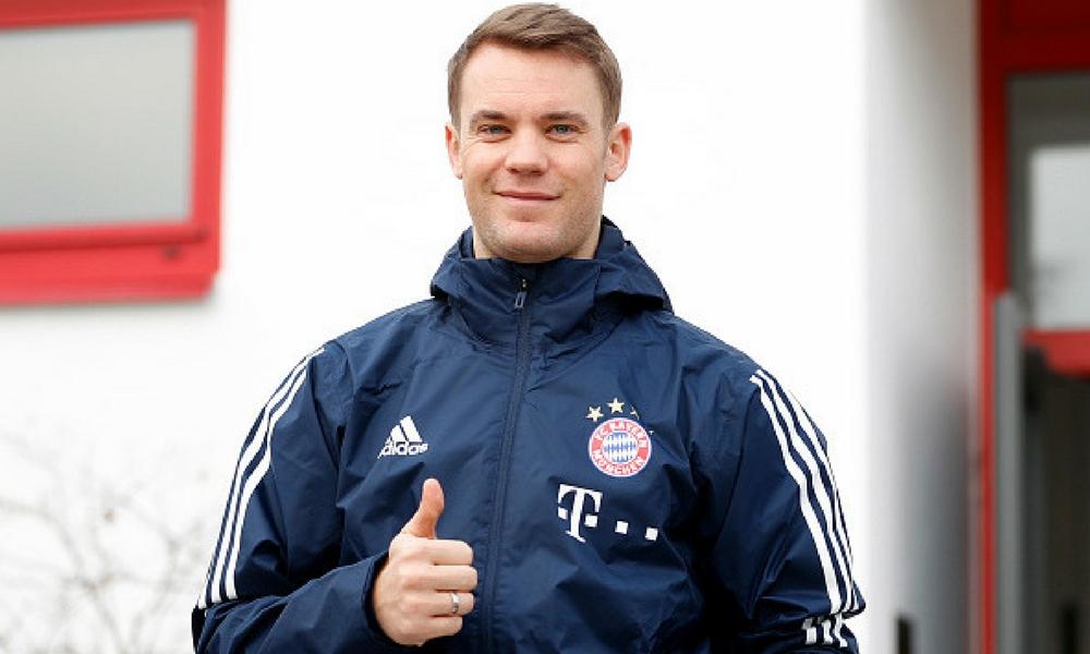 Manuel Neuer podría perderse el Mundial Rusia 2018 por falta de continuidad