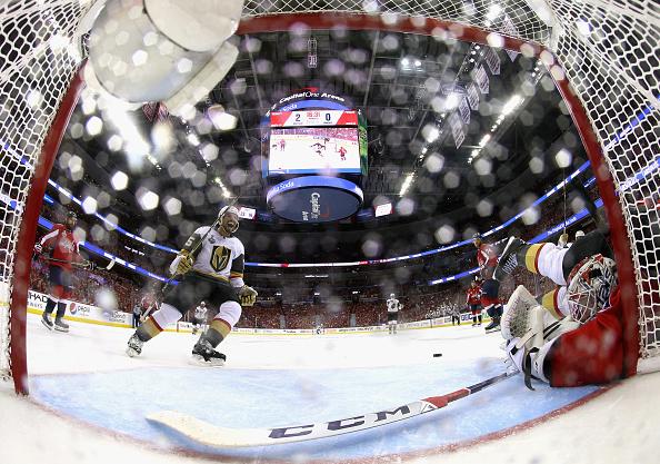 Los Capitals lideran la serie por la Stanley Cup