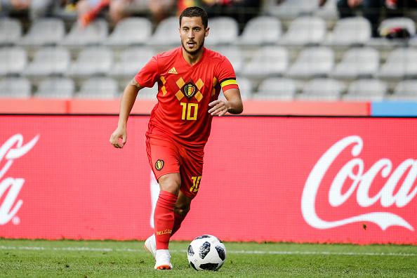 Selección de Bélgica.