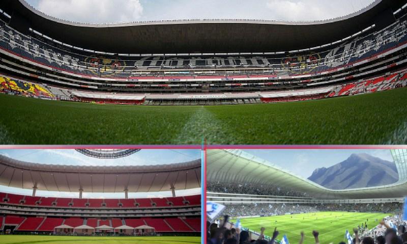 México, Estados Unidos y Canadá son sedes del Mundial 2026 estadios