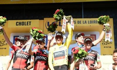 BMC Racing ganó la contrarreloj