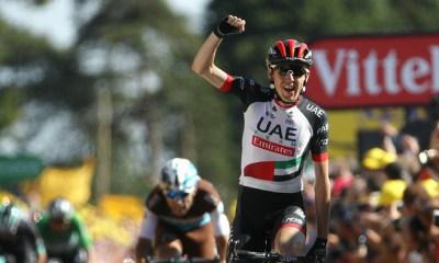 Martin ganó la sexta etapa del Tour