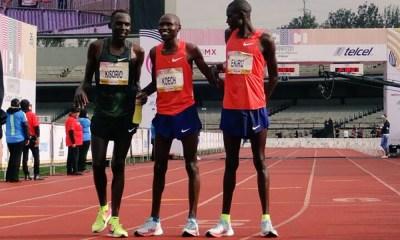 Titus Ekiru arrasó en la Maratón de la CDMX
