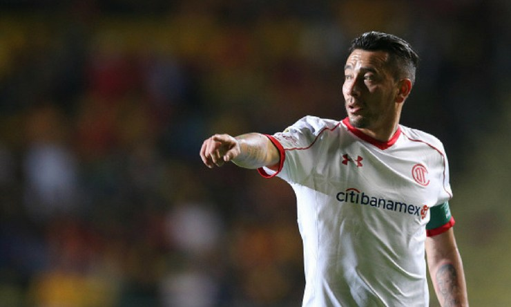 Rubens Sambueza será baja de Toluca