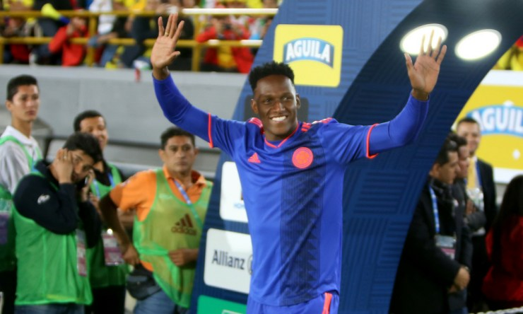Yerry Mina fichó por el Everton