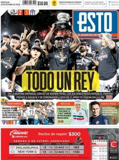diarios deportivos del 10 de octubre de 2018