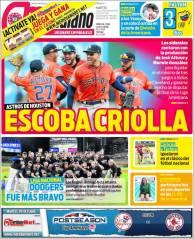 diarios deportivos del 9 de octubre de 2018