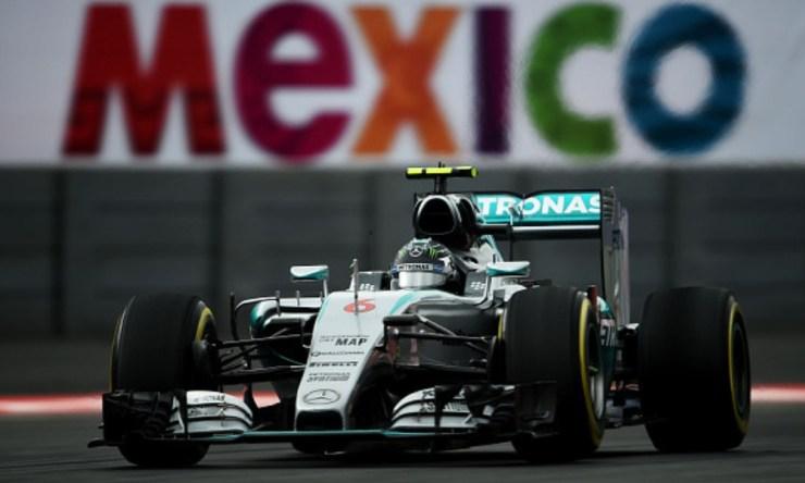último piloto en coronarse en el GP de México