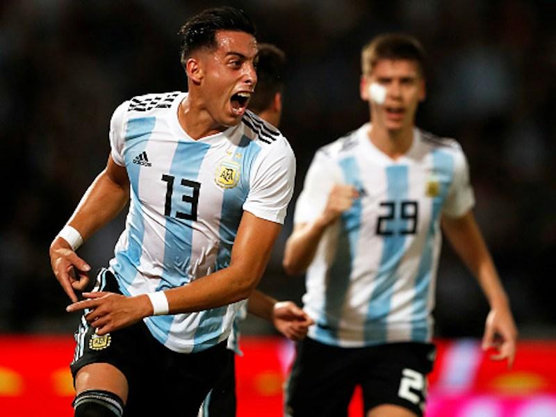 Argentina derrotó con facilidad a México