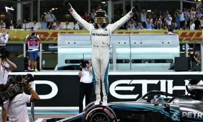 Hamilton consiguió la pole position en Abu Dhabi