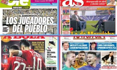 diarios deportivos del 23 de noviembre de 2018