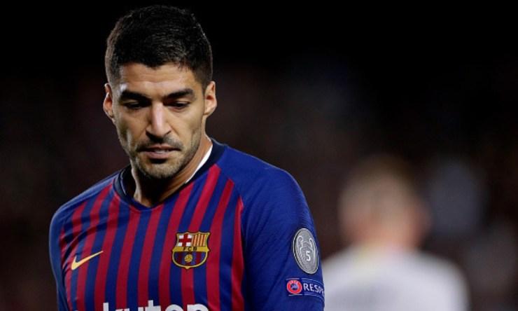 Luis Suárez podría salir del Barça debido a su edad