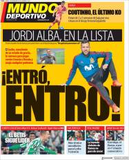 diarios deportivos del 9 de noviembre de 2018