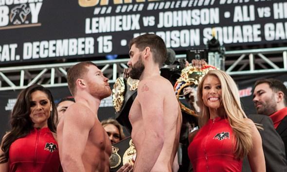 'Canelo' Álvarez vs Rocky Fielding